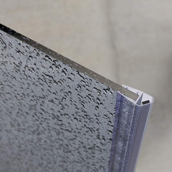 2m Duschdichtung UKM04 magnetisch wasserabweisend Magnetdichtung UPS