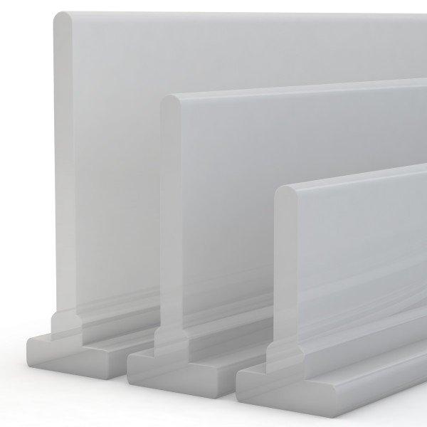 Duschkabinen Dichtung SDD02 Duschdichtung Silikon Wasserabweiser Silikondichtung Dusche T-Profil