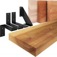 Vorschau: Wandregal aus Massivholz