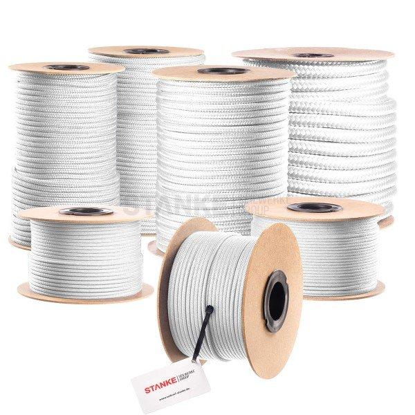 3mm POLYPROPYLEN SEIL PP Seil Polypropylenseil WEISS