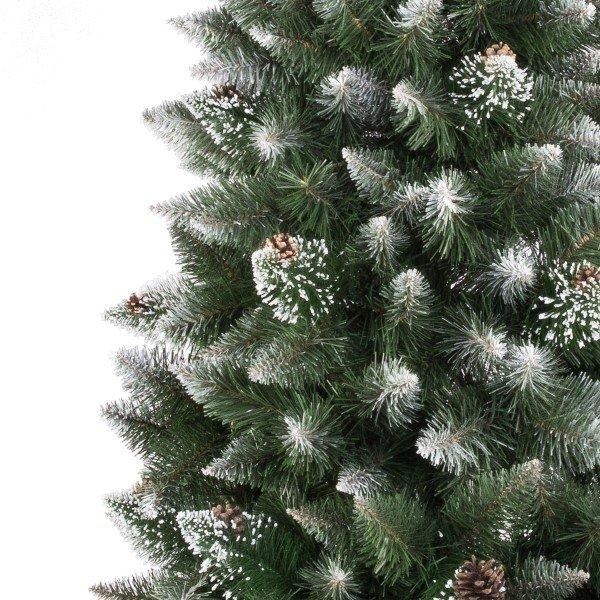 k nstlicher weihnachtsbaum kiefer natur weiss beschneit jumbo shop. Black Bedroom Furniture Sets. Home Design Ideas
