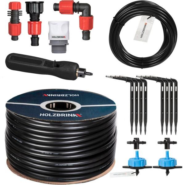Bewässerungssystem mit Pfeiltropfer, Verlegerohr LDPE 16 mm