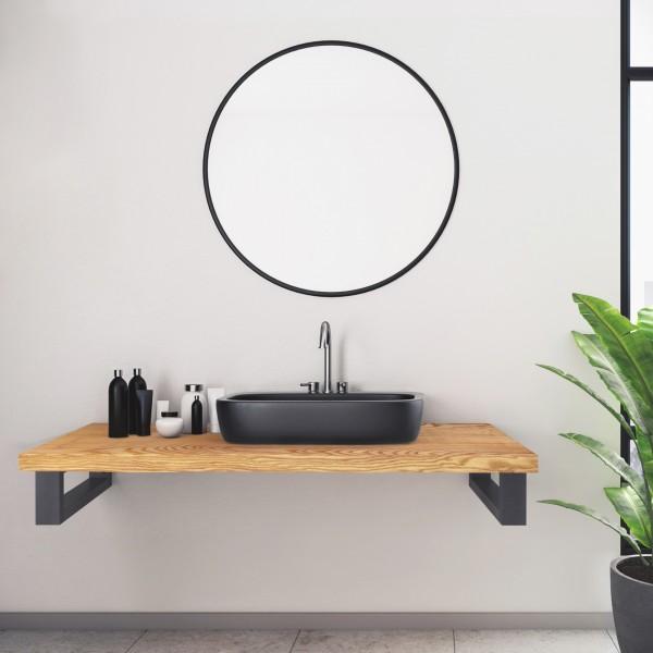 Wandhalterung für Waschtischplatte oder Handtuchhalter