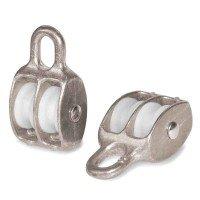Vorschau: Doppelseilrolle 25mm Seilrolle doppelt