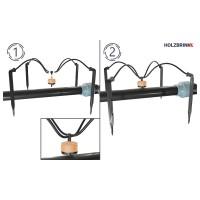 Vorschau: Bewässerungssystem mit Pfeiltropfer, Verlegerohr LDPE 20 mm