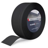 Vorschau: Weichsockelleiste SCHWARZ Knickleiste Profil 70x20mm