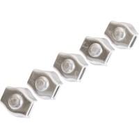 Vorschau: Simplexklemme 2 – 6 mm Drahtseilklemme Simplexklemme Edelstahl