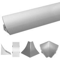 Vorschau: Küchenleiste 23x23mm Abschlussleiste Küche Arbeitsplatte - 610 Vollaluminium