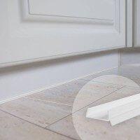 Vorschau: 1,5m Küchensockel Abdichtungsprofil 15mm/16mm/17mm Küchensockeldichtung