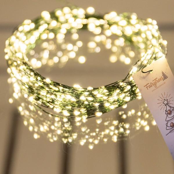 20m LED Lichterkette für Weihnachtsbaum LEDs 400 Weihnachtsbaumbeleuchtung
