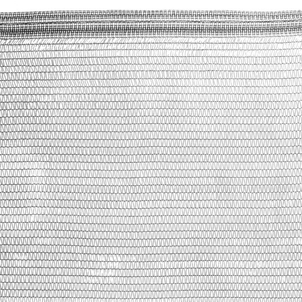 Schattiernetz inkl. Befestigungsmaterial, Schwarz, Zaunblende, Windschutznetz HZB-02