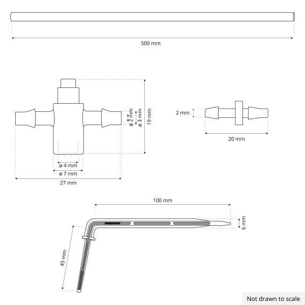 Bewässerungssystem Micro-Drip-System Tropfbewässerung Bewässerungsset 8
