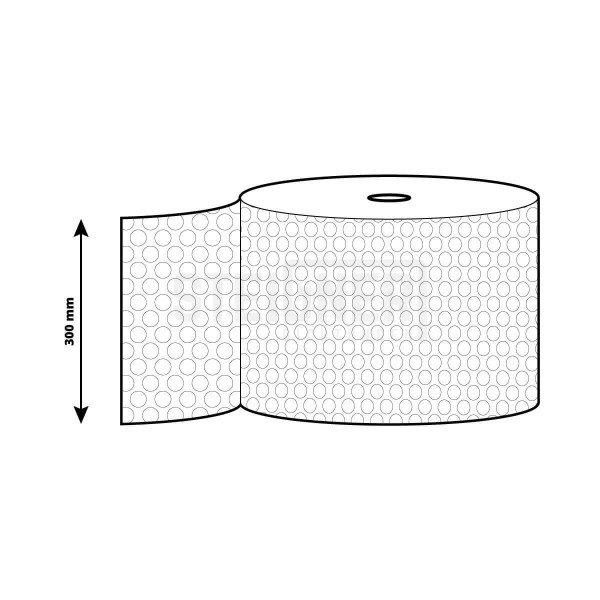 Polsterfolie Blisterfolie 30cm Rollenbreite Verpackungsfolie Luftpolster