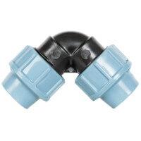 Vorschau: L-Stück 3/4 x 3/4 Zoll 20x20 mm Rohrverbinder für Richtungsänderung des Verlegerohrs