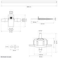 Vorschau: Bewässerungssystem Micro-Drip-System Tropfbewässerung Bewässerungsset 4