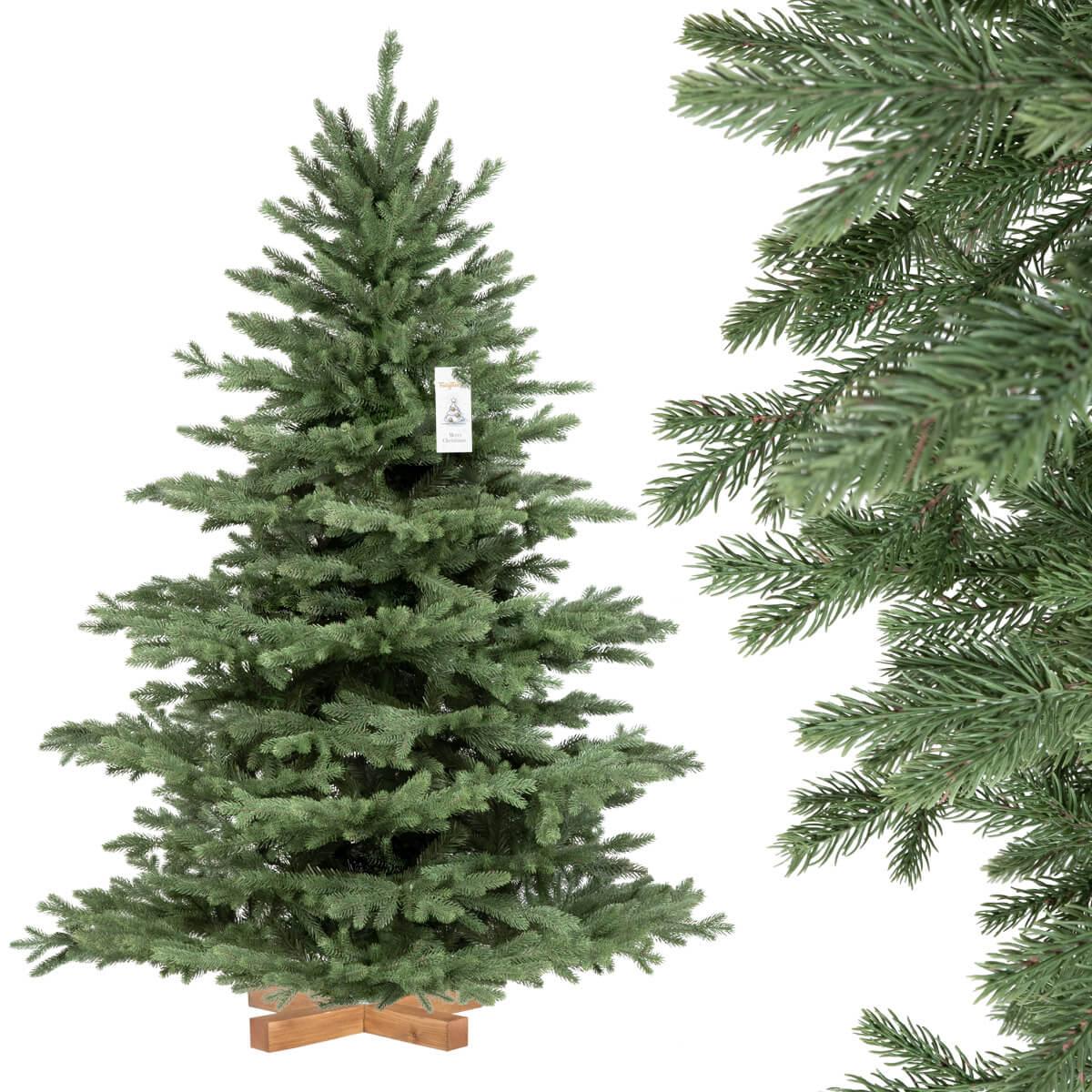 k nstlicher spritzguss weihnachtsbaum alpentanne premium. Black Bedroom Furniture Sets. Home Design Ideas