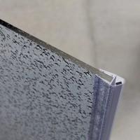 Vorschau: 2m Duschdichtung UKM03 magnetisch wasserabweisend Magnetdichtung UPS