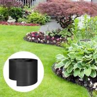 Vorschau: Flexibles PVC 10m Band ohne Anker Rasenkante Wurzelsperre
