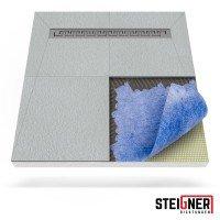 Vorschau: Duschelement mit Duschrinne 4-seitiges Gefälle Duschboard befliesbar inkl. Dichtfolie