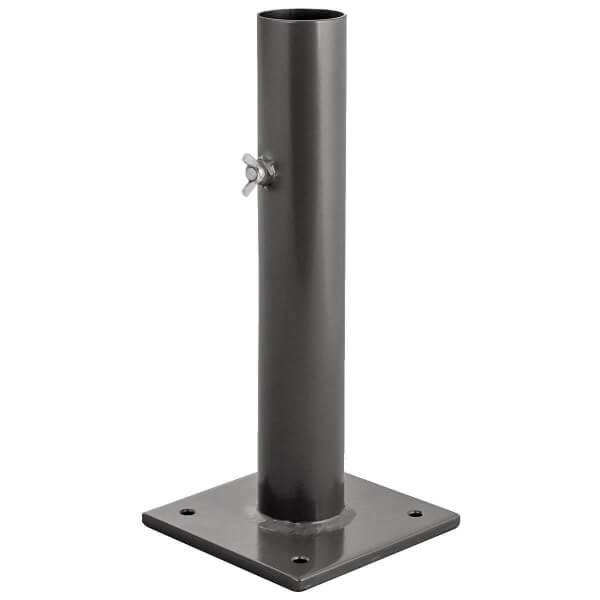 Sonnenschirmständer für Bodenhülse Innendurchmesser 55 mm Anthrazitgrau