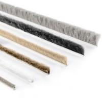 Vorschau: Bürstendichtung GRAU 4mm-20mm Türbürste selbstklebend