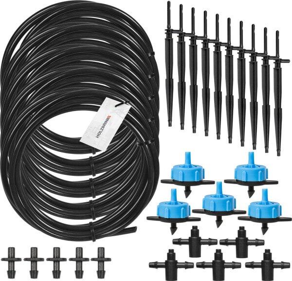 Bewässerungssystem Micro-Drip-System Tropfbewässerung Bewässerungsset 2