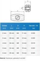 Vorschau: Drahtseilklemme EIFORM 5mm Seilklemmen Aluminium