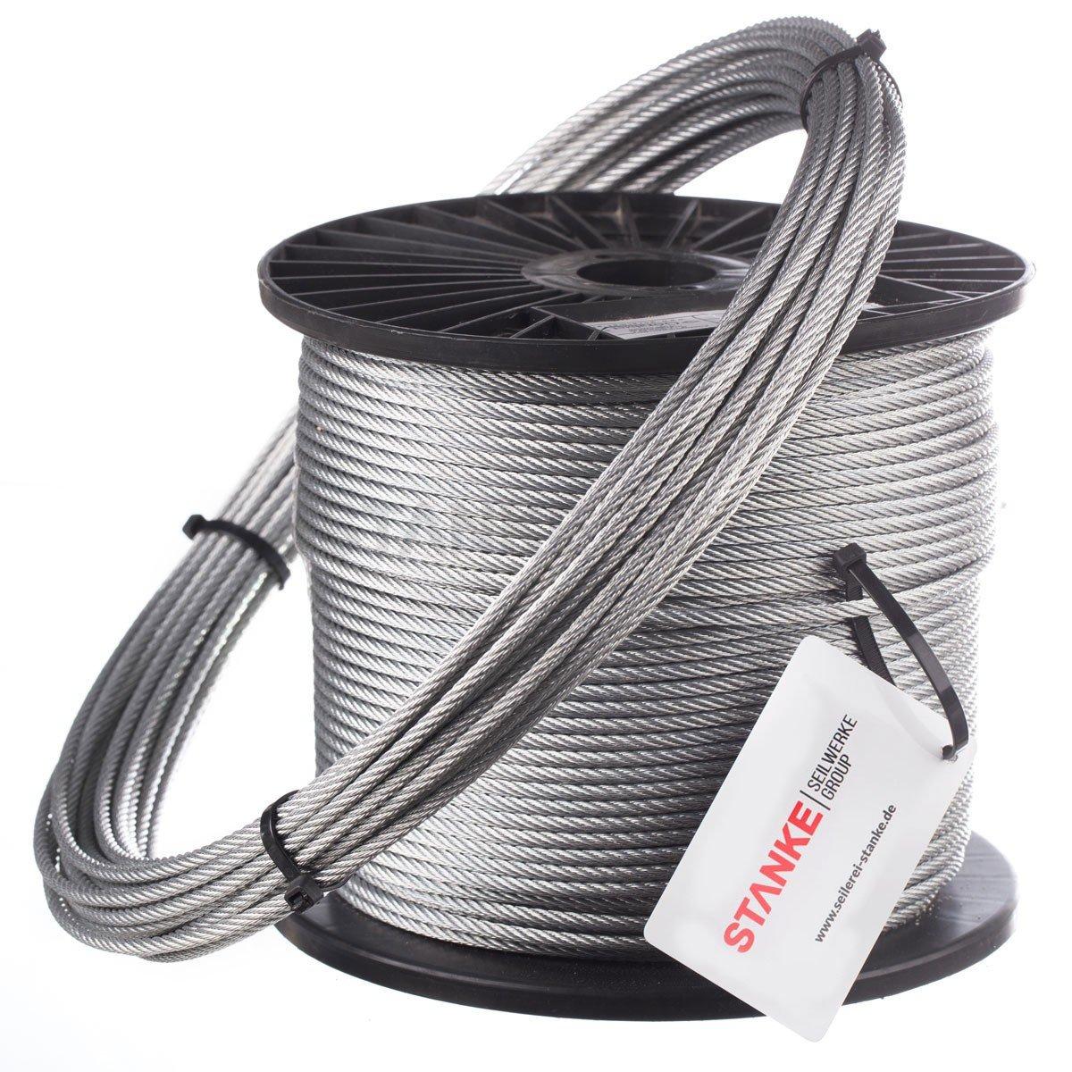 1,5mm Stahlseil DIN3052 | Jumbo-Shop