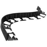 Vorschau: 1m Rasenkante PVC Leiste mit Ankern HRK01B-45