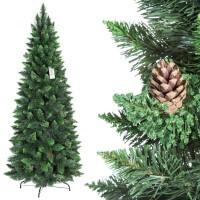 Vorschau: künstlicher Weihnachtsbaum SLIM Kiefer Natur-Grün