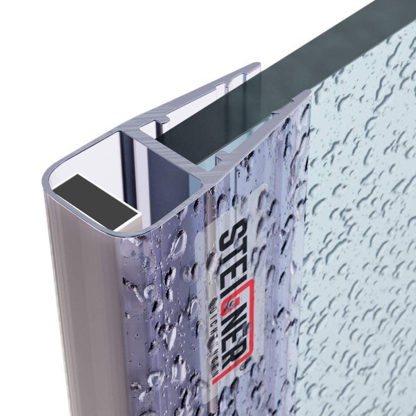 2m Duschdichtung UKM02 magnetisch wasserabweisend Magnetdichtung UPS