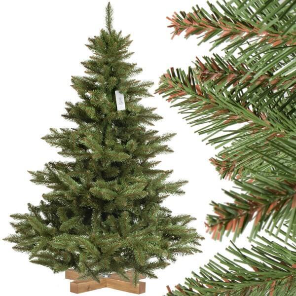 Weihnachtsbaum Nordmanntanne.Künstlicher Weihnachtsbaum Nordmanntanne