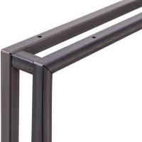 Vorschau: Tischbeine aus Vierkantprofilen 20x20 mm für Schreibtisch, Couchtisch oder Esstisch