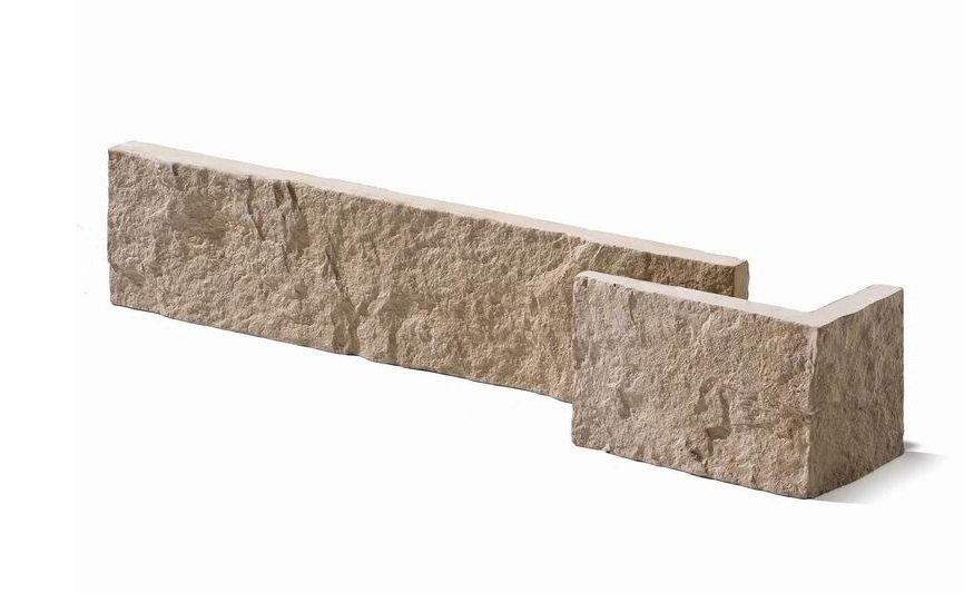 Kalkstein Mauer Verblender