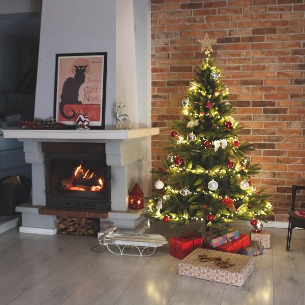 30m LED Lichterkette für Weihnachtsbaum LEDs 600 Weihnachtsbaumbeleuchtung