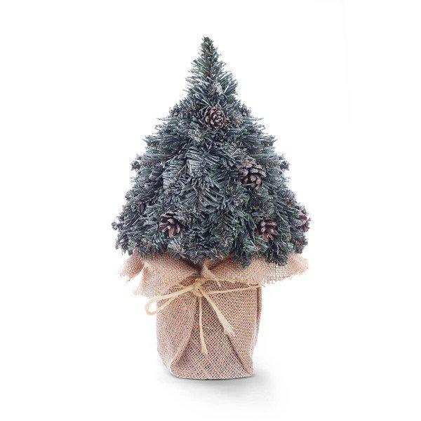 MINI Weihnachtsbaum 35cm künstlich Weihnachtsbaum Mini WEISS