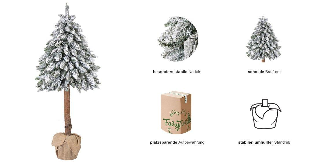 weihnachtsbaum im topf k nstlicher tannenbaum fichte. Black Bedroom Furniture Sets. Home Design Ideas