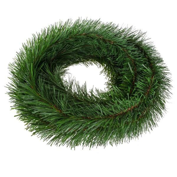 Girlande für Weihnachtsbaum Dunkelgrün