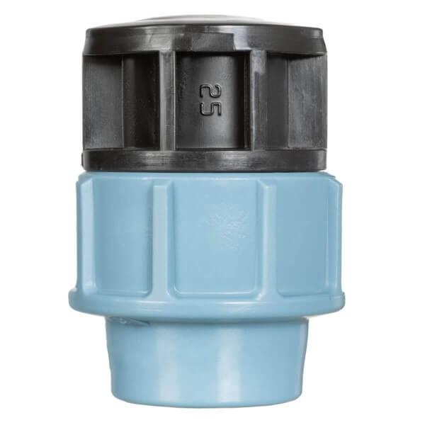 Verschlussstopfen 1 Zoll 25 mm Endstück zum Verschluss des Verlegerohrs