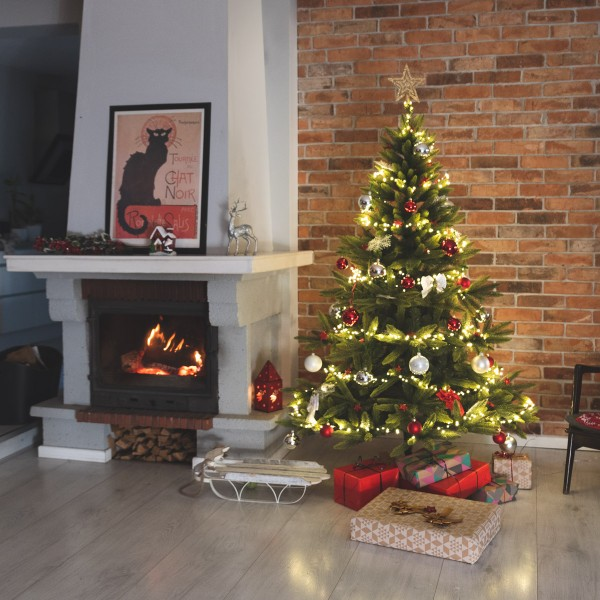 10m LED Lichterkette für Weihnachtsbaum LEDs 500 Weihnachtsbaumbeleuchtung
