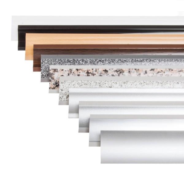 MUSTER Küchenleiste 23x23mm Abschlussleiste Küche Arbeitsplatte