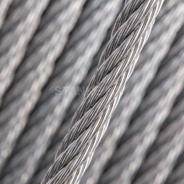 6mm Stahlseil verzinkt Drahtseile DIN3060 Stahlseile