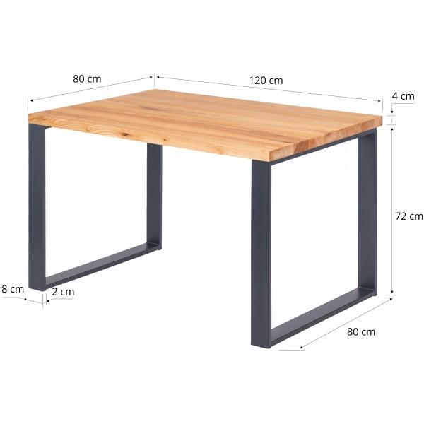 Schreibtisch Esstisch 120x80x76 cm (LxBxH)