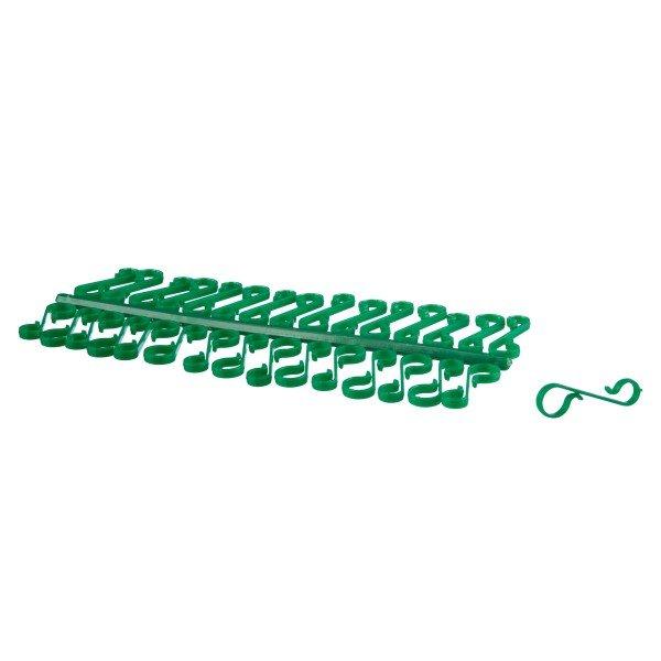 Weihnachtsbaum Kugelaufhänger PVC Aufhänger für Weihnachtskugeln - 30er Pack