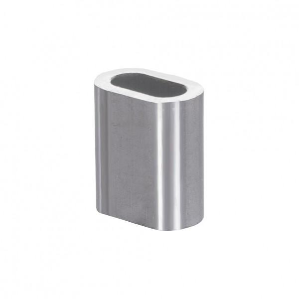 Alu Pressklemme 1 – 16 mm Drahtseilklemme Alu Presshülse