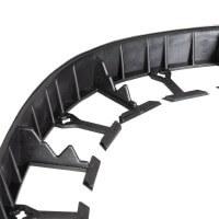 Vorschau: 1m Rasenkante PVC Leiste mit Ankern HRK01B-58