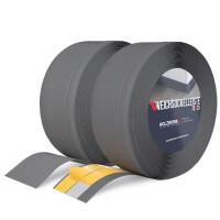 Vorschau: Weichsockelleiste GRAPHIT Knickleiste Profil 70x20mm