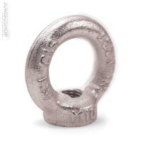 Vorschau: Ringmutter M12 Ringmuttern DIN Kranöse Zurröse verzinkt