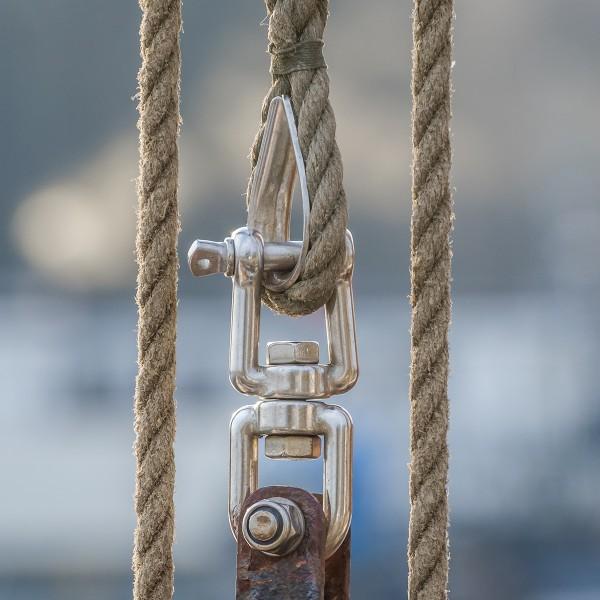 2X5M JUTESEIL Tau Seil gewebt Tauwerk Naturhanf Jute Rope Hanfseil String 2mm