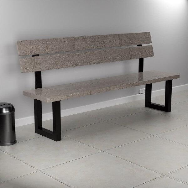 Rückenlehnenhalter Lehnenhalter für Sitz, Bank, Bett HLMR-01